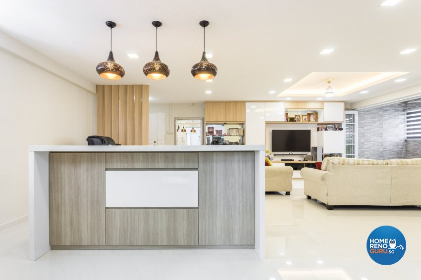 Contemporary, Minimalist Design - Dining Room - HDB Executive Apartment - Design by NorthWest Interior Design Pte Ltd