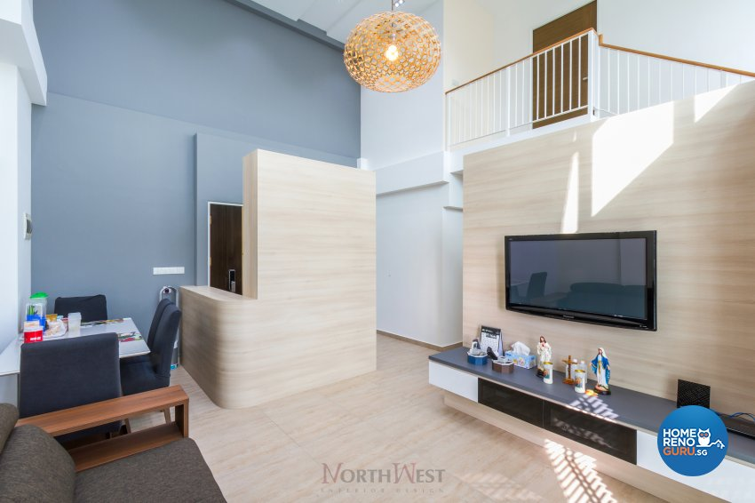 Contemporary, Minimalist Design - Living Room - HDB 5 Room - Design by NorthWest Interior Design Pte Ltd