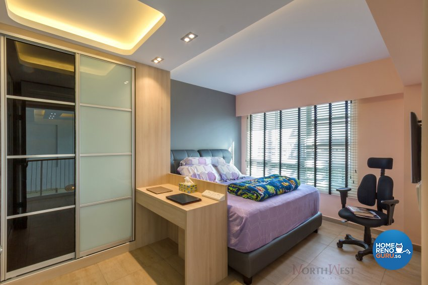 Contemporary, Minimalist Design - Bedroom - HDB 5 Room - Design by NorthWest Interior Design Pte Ltd