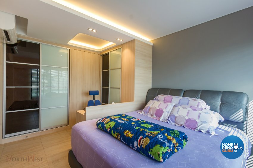 Contemporary, Minimalist Design - Bedroom - HDB 5 Room - Design by NorthWest Interior Design Pte Ltd