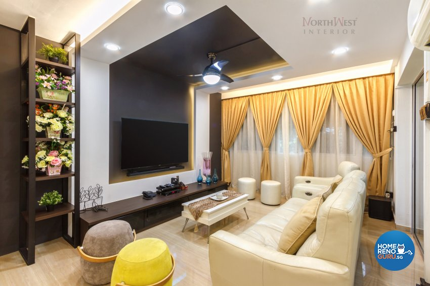 Classical, Contemporary, Rustic Design - Living Room - Others - Design by NorthWest Interior Design Pte Ltd