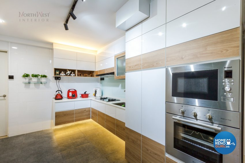Classical, Contemporary, Rustic Design - Kitchen - Others - Design by NorthWest Interior Design Pte Ltd