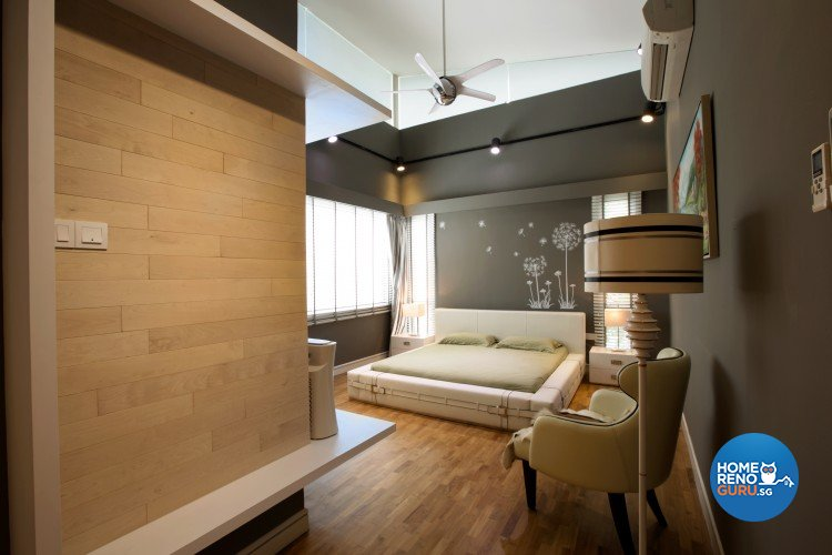 Classical, Resort, Tropical Design - Bedroom - Landed House - Design by NorthWest Interior Design Pte Ltd