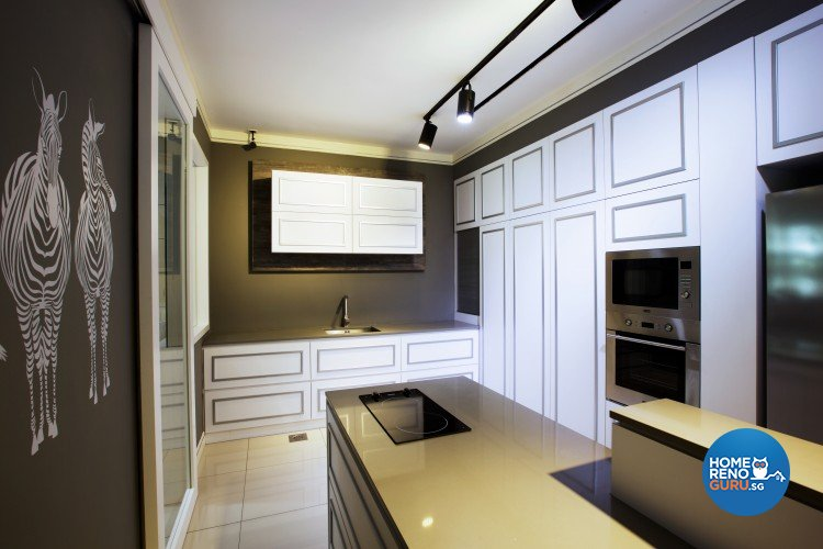 Classical, Resort, Tropical Design - Kitchen - Landed House - Design by NorthWest Interior Design Pte Ltd