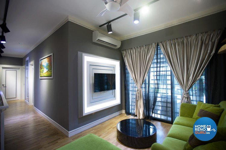 Classical, Resort, Tropical Design - Living Room - Landed House - Design by NorthWest Interior Design Pte Ltd