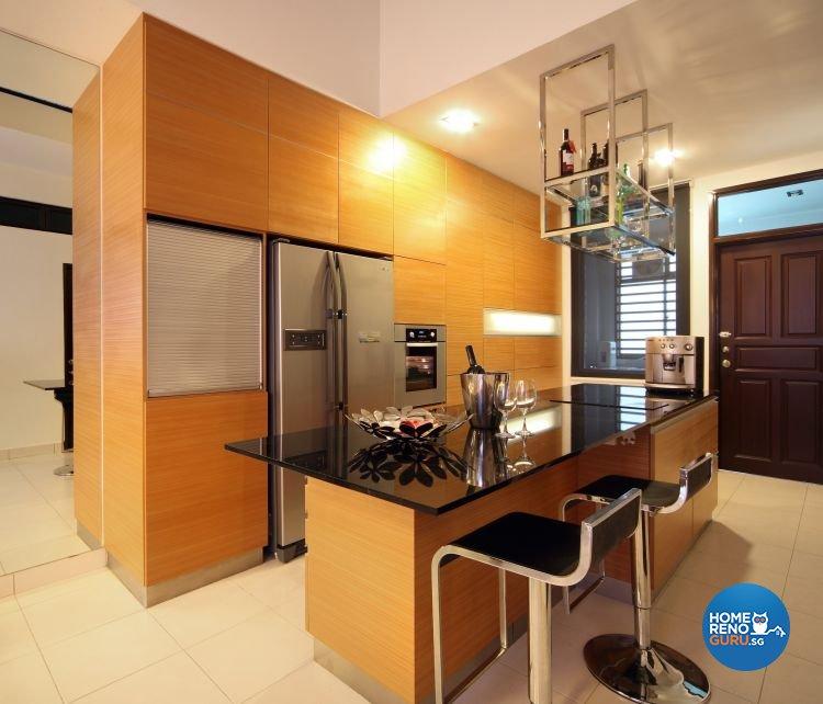 Contemporary, Modern Design - Kitchen - Landed House - Design by NorthWest Interior Design Pte Ltd