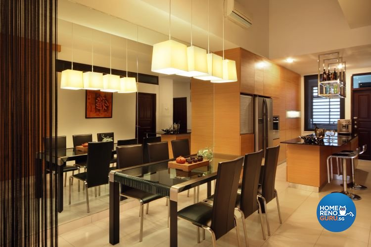 Contemporary, Modern Design - Dining Room - Landed House - Design by NorthWest Interior Design Pte Ltd