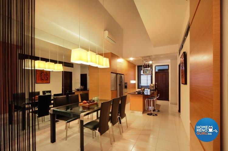 Contemporary, Modern Design - Dining Room - Landed House - Design by NorthWest Interior Design Pte Ltd