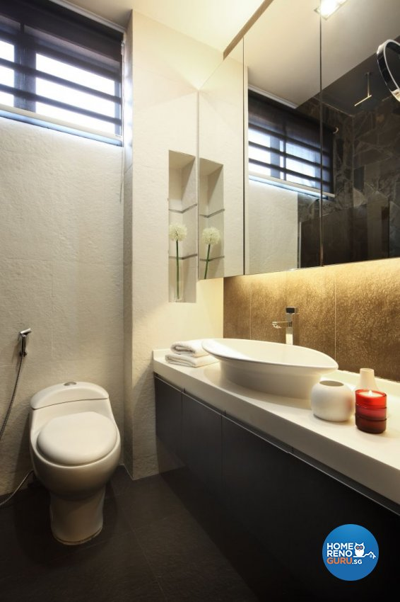 Contemporary, Modern Design - Bathroom - Landed House - Design by NorthWest Interior Design Pte Ltd