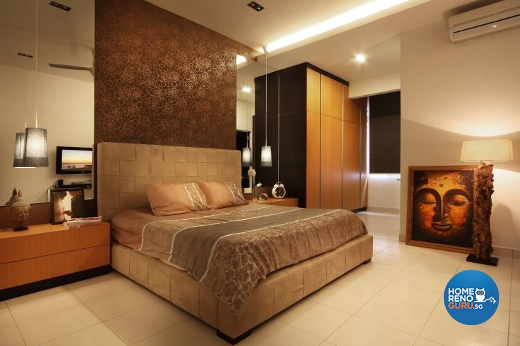 Contemporary, Modern Design - Bedroom - Landed House - Design by NorthWest Interior Design Pte Ltd