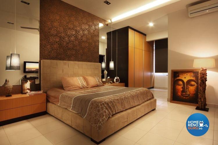 Contemporary, Modern Design - Bedroom - Landed House - Design by NorthWest Interior Design Pte Ltd
