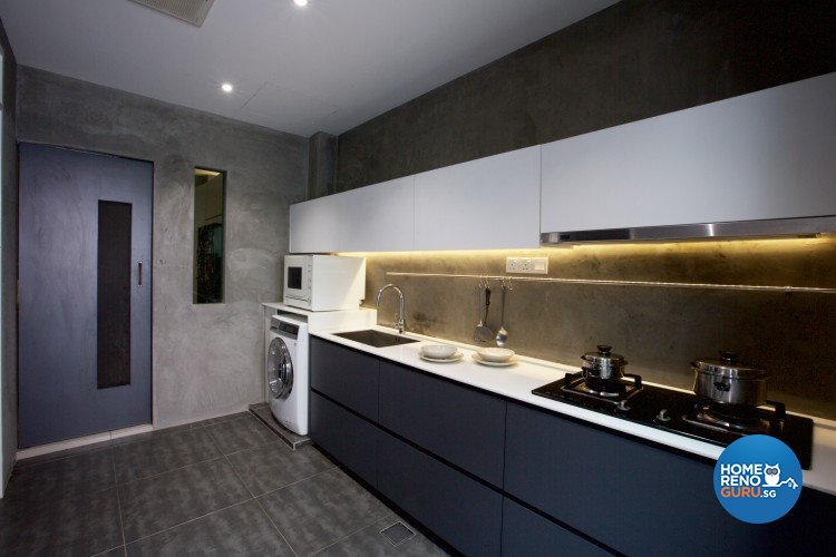 Eclectic, Modern Design - Kitchen - Landed House - Design by NorthWest Interior Design Pte Ltd