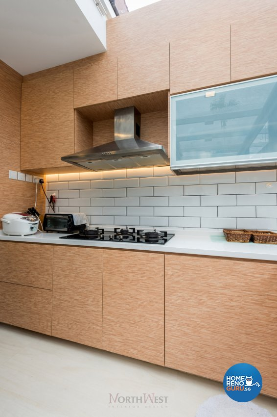 Contemporary, Minimalist, Scandinavian Design - Kitchen - Landed House - Design by NorthWest Interior Design Pte Ltd