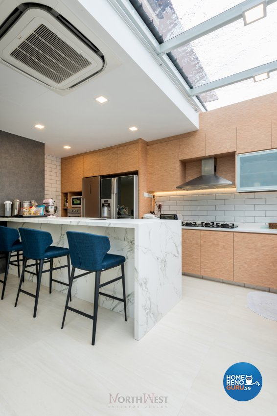 Contemporary, Minimalist, Scandinavian Design - Kitchen - Landed House - Design by NorthWest Interior Design Pte Ltd