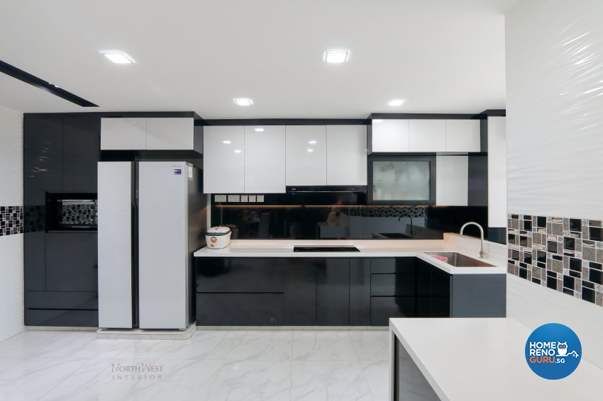 Contemporary, Retro Design - Kitchen - Others - Design by NorthWest Interior Design Pte Ltd