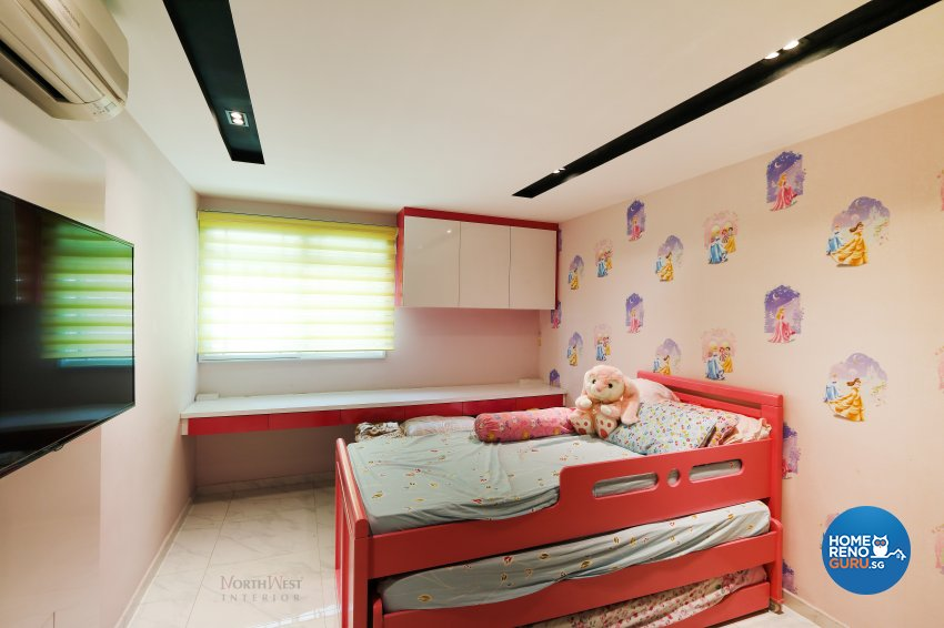 Contemporary, Retro Design - Bedroom - Others - Design by NorthWest Interior Design Pte Ltd