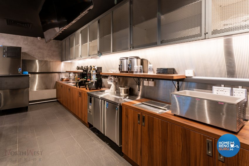 Industrial, Rustic Design - Commercial - Retail - Design by NorthWest Interior Design Pte Ltd