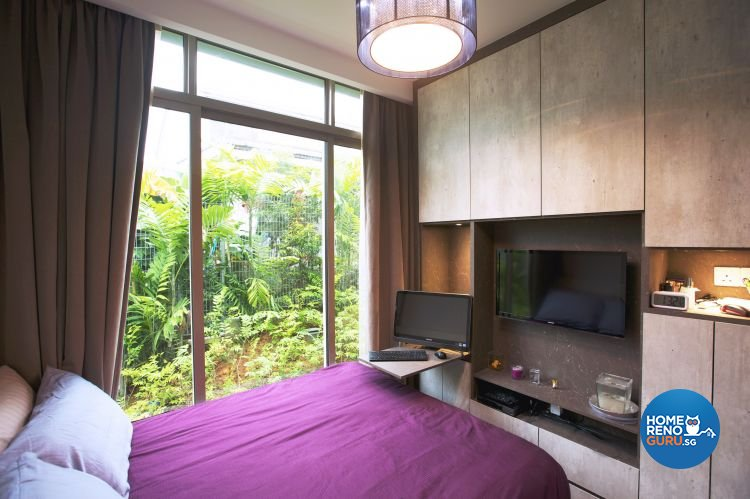 Contemporary, Rustic Design - Bedroom - Landed House - Design by NorthWest Interior Design Pte Ltd