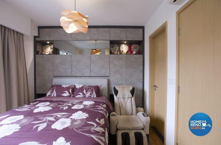 Contemporary, Rustic Design - Bedroom - Landed House - Design by NorthWest Interior Design Pte Ltd