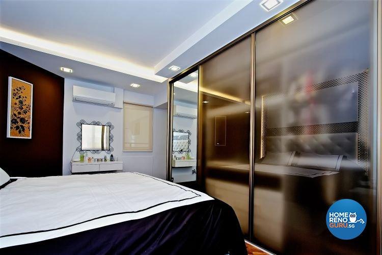 Contemporary, Minimalist, Scandinavian Design - Bedroom - HDB 4 Room - Design by NorthWest Interior Design Pte Ltd