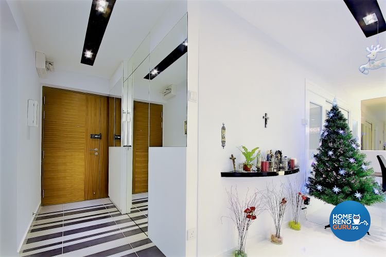 Contemporary, Minimalist, Scandinavian Design - Living Room - HDB 4 Room - Design by NorthWest Interior Design Pte Ltd