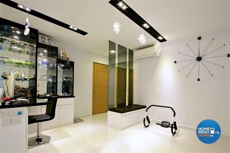 Contemporary, Minimalist, Scandinavian Design - Study Room - HDB 4 Room - Design by NorthWest Interior Design Pte Ltd