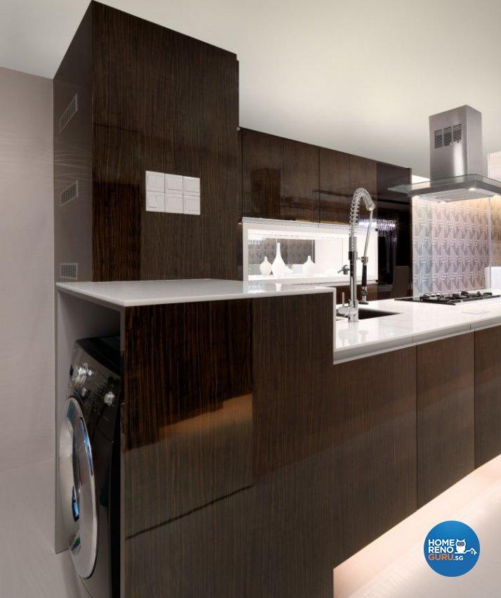 Contemporary, Modern Design - Kitchen - HDB 3 Room - Design by NorthWest Interior Design Pte Ltd