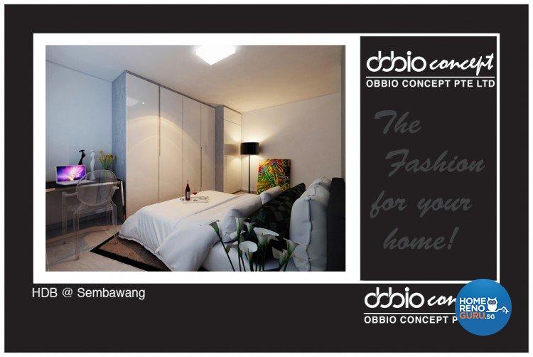 Contemporary, Minimalist, Scandinavian Design - Bedroom - HDB 4 Room - Design by obbio concept pte ltd