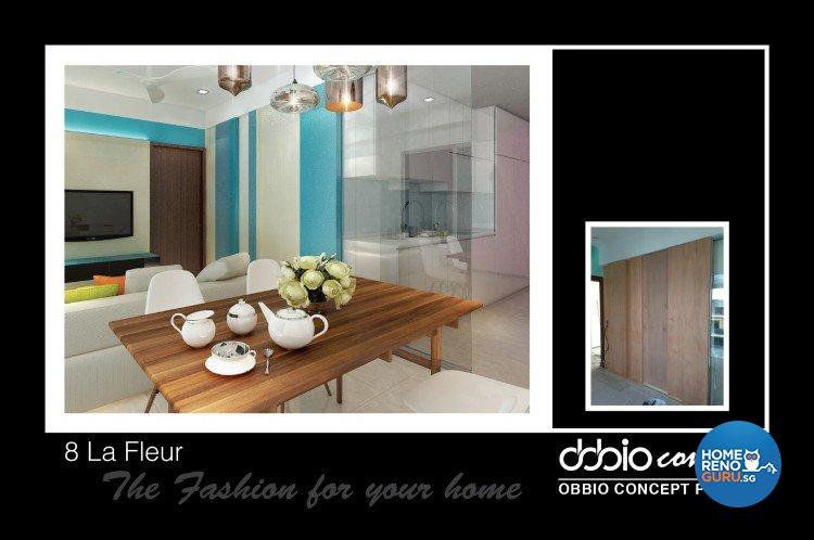 Modern, Scandinavian Design - Living Room - Condominium - Design by obbio concept pte ltd