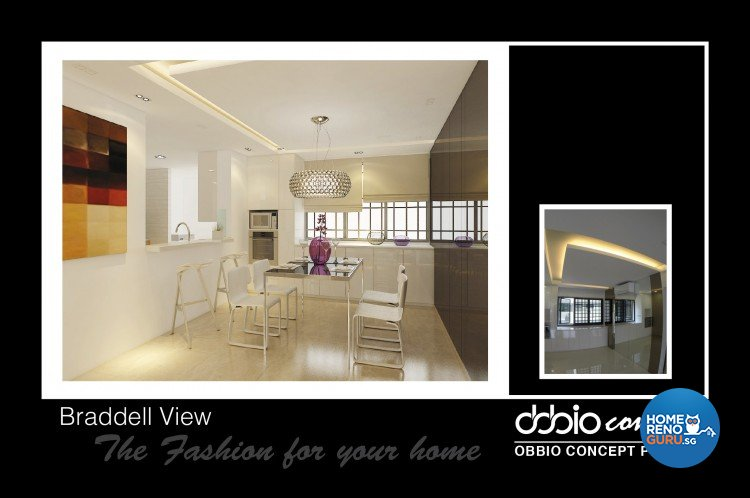 Contemporary, Modern Design - Dining Room - Condominium - Design by obbio concept pte ltd