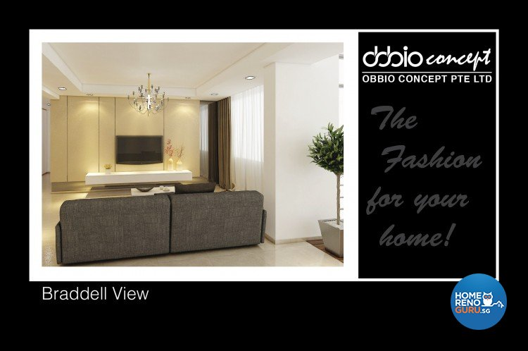 Contemporary, Modern Design - Living Room - Condominium - Design by obbio concept pte ltd