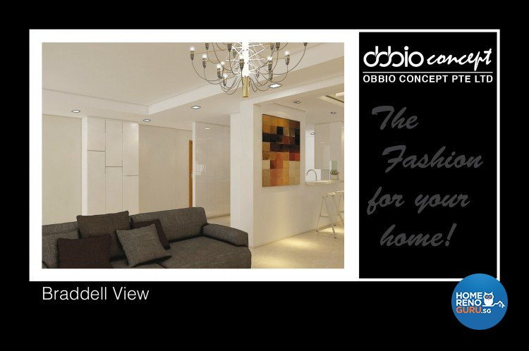 Contemporary, Modern Design - Balcony - Condominium - Design by obbio concept pte ltd