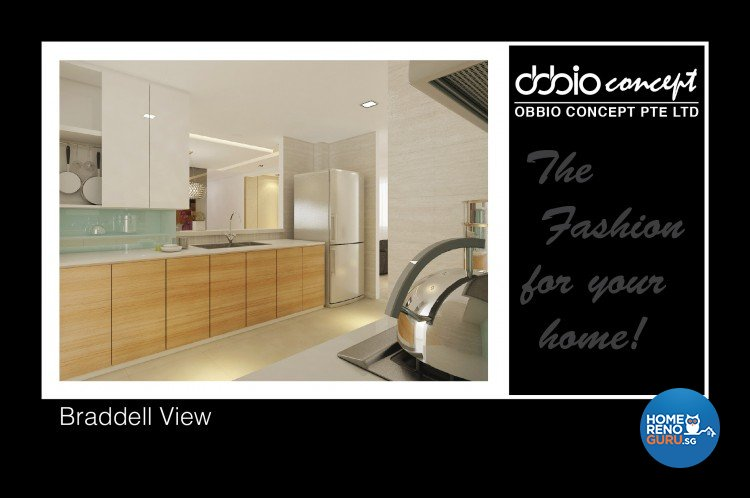 Contemporary, Modern Design - Kitchen - Condominium - Design by obbio concept pte ltd