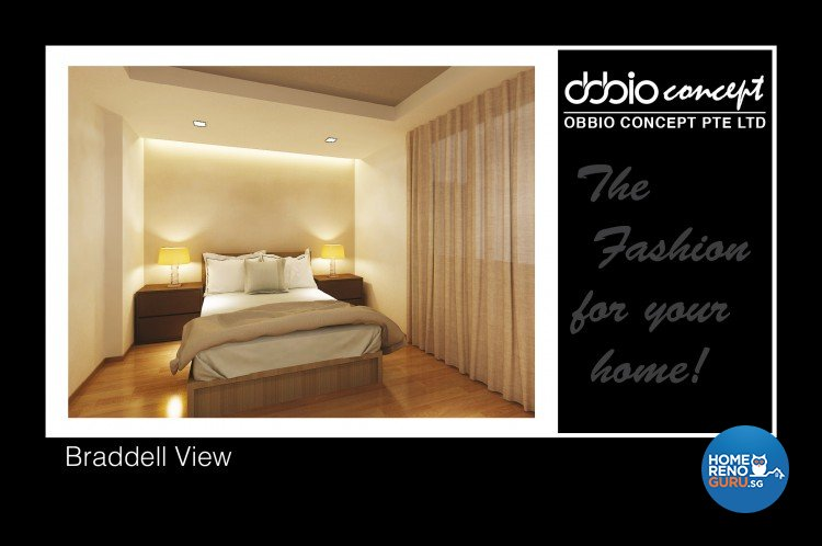 Contemporary, Modern Design - Bedroom - Condominium - Design by obbio concept pte ltd