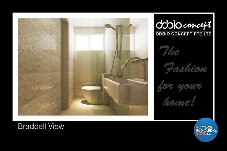 Contemporary, Modern Design - Bathroom - Condominium - Design by obbio concept pte ltd