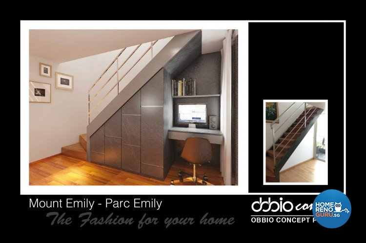 Contemporary, Modern Design - Study Room - Condominium - Design by obbio concept pte ltd