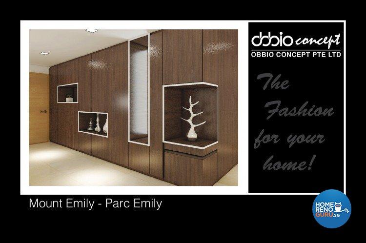 Contemporary, Modern Design - Living Room - Condominium - Design by obbio concept pte ltd