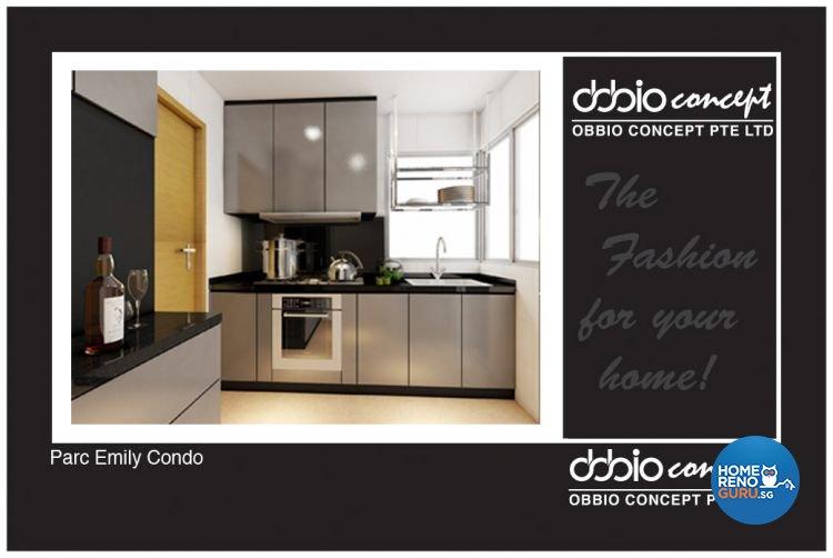 Minimalist, Modern Design - Kitchen - Condominium - Design by obbio concept pte ltd