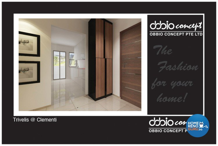 Contemporary, Modern Design - Living Room - HDB 4 Room - Design by obbio concept pte ltd