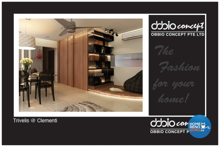 Contemporary, Modern Design - Dining Room - HDB 4 Room - Design by obbio concept pte ltd