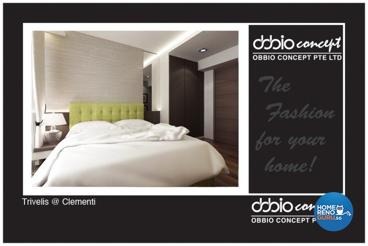Contemporary, Modern Design - Bedroom - HDB 4 Room - Design by obbio concept pte ltd