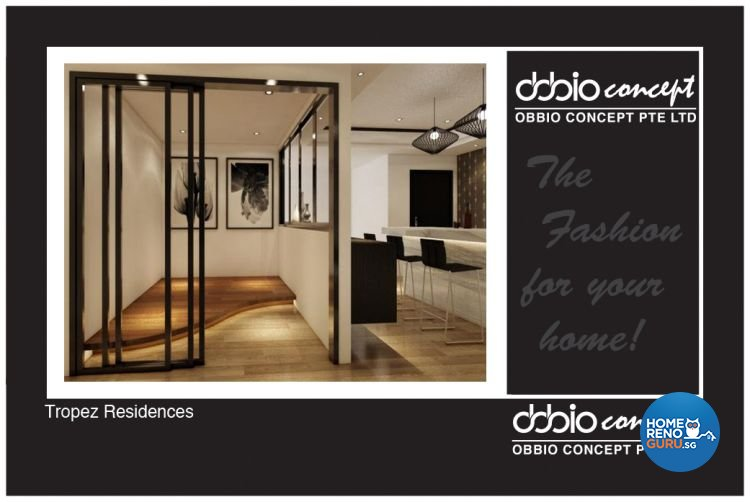 Industrial, Scandinavian Design - Entertainment Room - Condominium - Design by obbio concept pte ltd