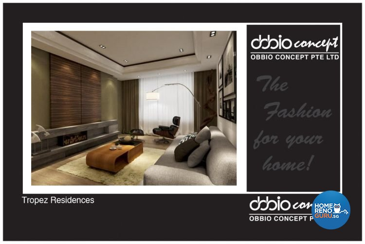 Industrial, Scandinavian Design - Living Room - Condominium - Design by obbio concept pte ltd