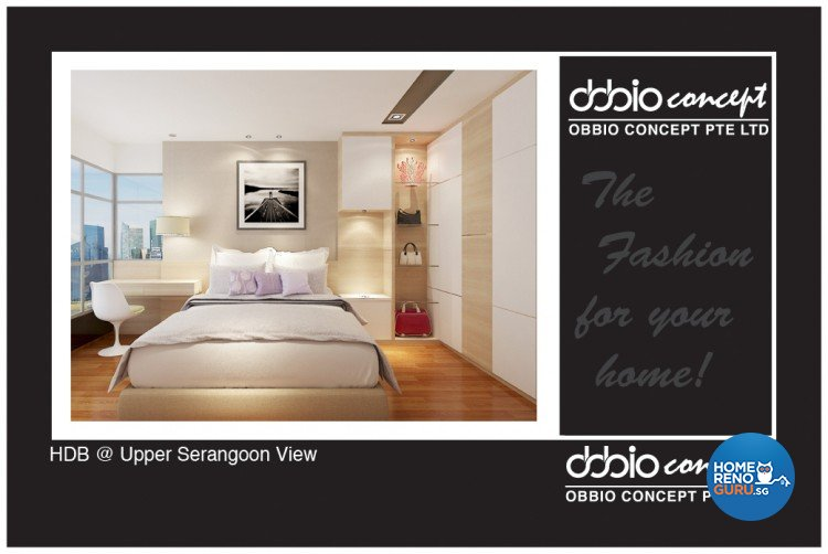 Contemporary, Minimalist, Scandinavian Design - Bedroom - HDB 4 Room - Design by obbio concept pte ltd