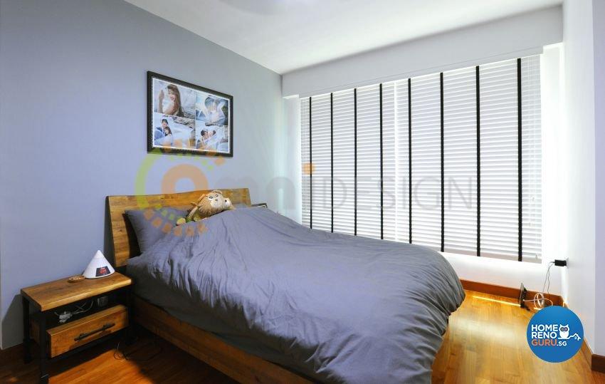 Scandinavian Design - Bedroom - HDB 4 Room - Design by Omni Design Pte Ltd