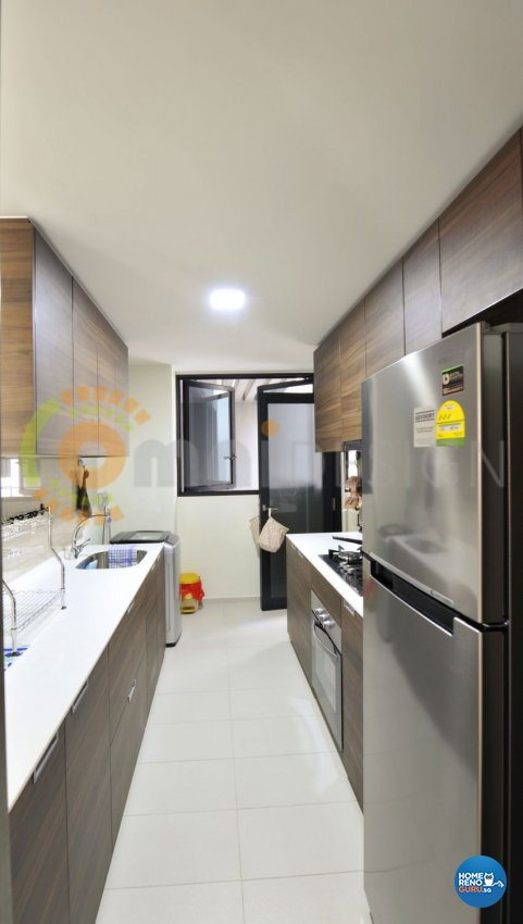 Contemporary Design - Kitchen - HDB 5 Room - Design by Omni Design Pte Ltd