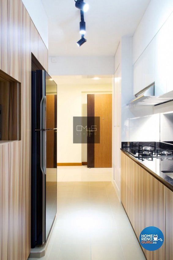Country, Modern Design - Kitchen - HDB 3 Room - Design by Omus Living