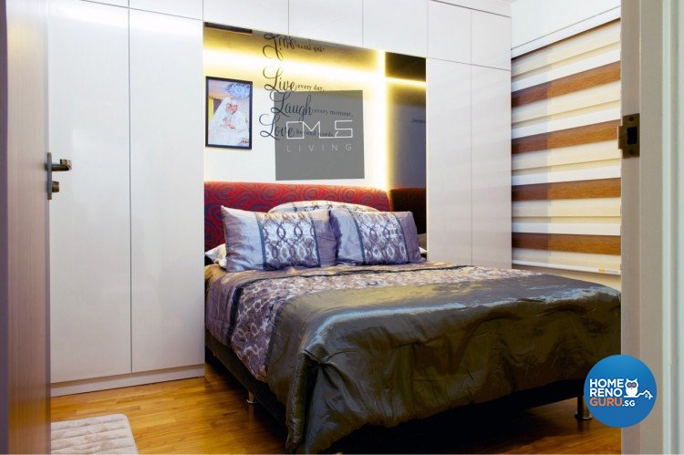 Country, Modern Design - Bedroom - HDB 3 Room - Design by Omus Living