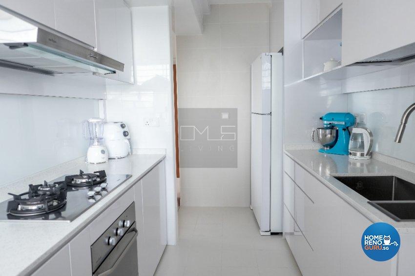 Contemporary, Modern, Scandinavian Design - Kitchen - HDB 3 Room - Design by Omus Living