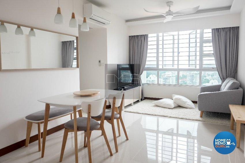 Contemporary, Modern, Scandinavian Design - Dining Room - HDB 3 Room - Design by Omus Living